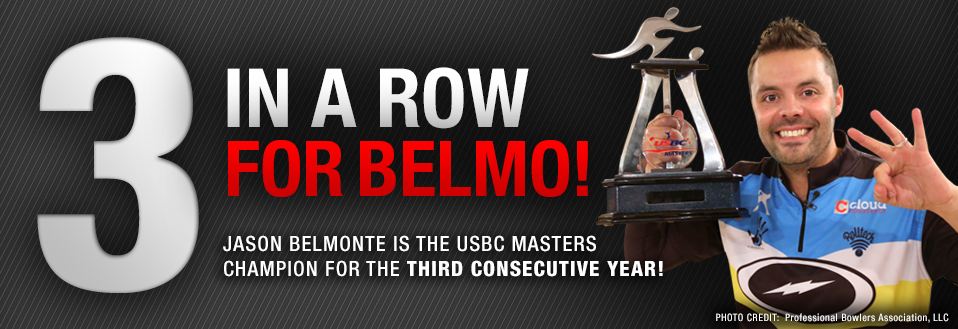 Jason Belmonte wins 3 in a row