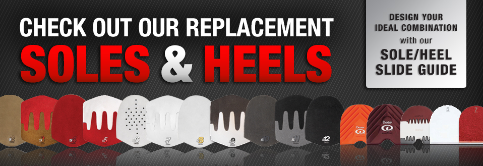 Check out our replacement soles and heels