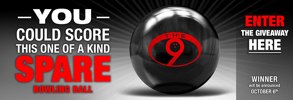You could score this one of a kind spare bowling ball from Dexter